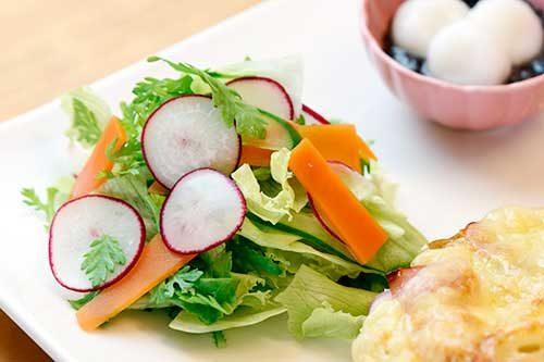 三日月家-自家製野菜